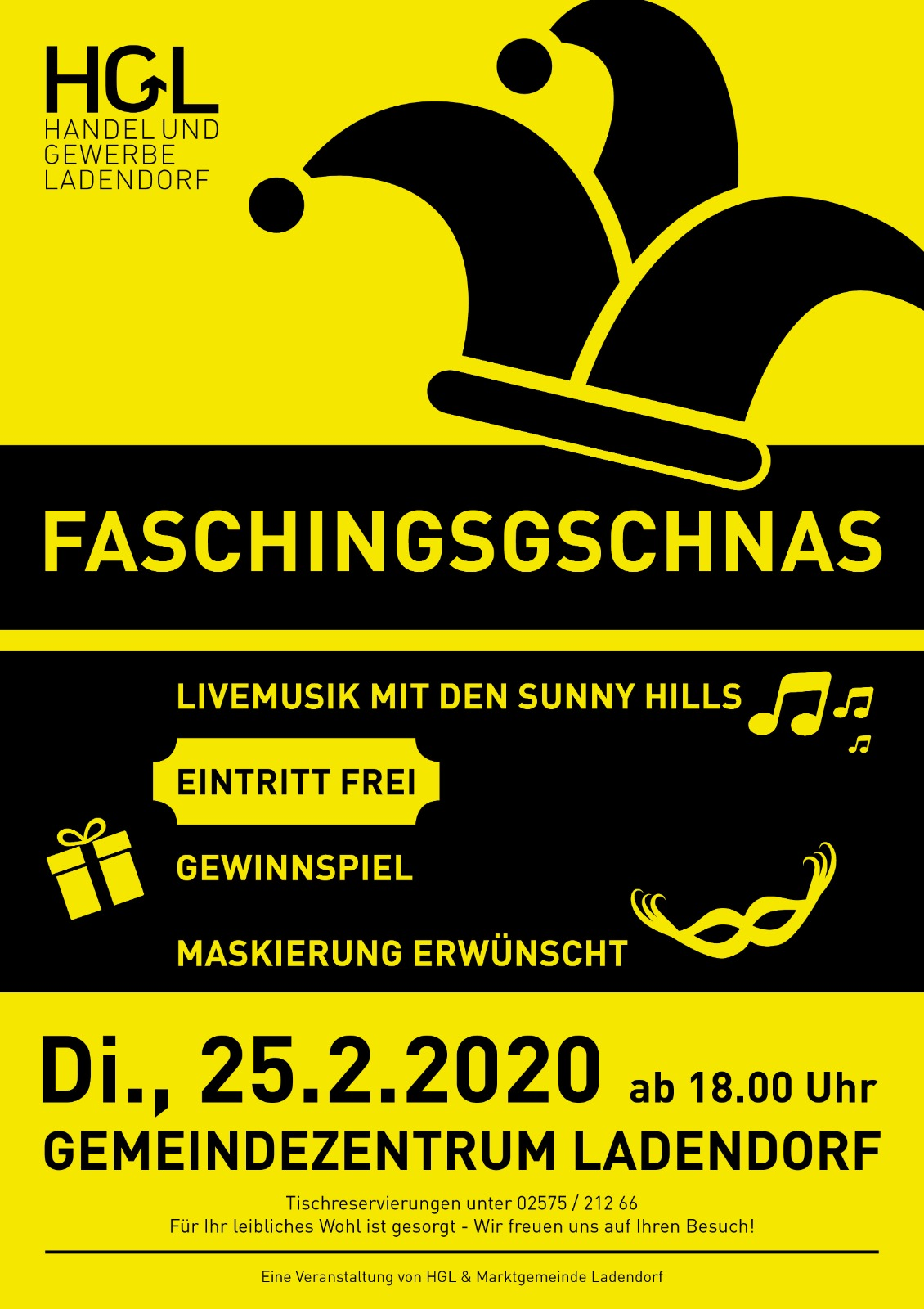 Faschingsgschnas Ladendorf